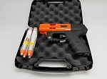 FIRESTORM JPX4 Shot LE Pepper Spray Gun Orange