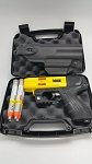 FIRESTORM JPX 4 Shot LE Defender Pepper Gun Yellow with laser and Level II Holster