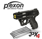 FIRESTORM JPX 4 Shot LE Pepper Spray Gun  Black