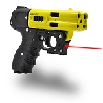 FIRESTORM JPX 4 Shot LE Pepper Spray Gun  Yellow Barrel